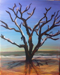 Botany Bay, SC Tree 11x14