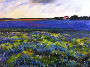 Field of Bluebonnets - SOLD