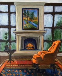 Fireside Chair 16x20