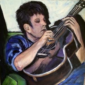 Guitar Man 12x12