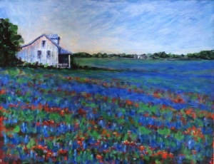Texas Bluebonnets 16x20