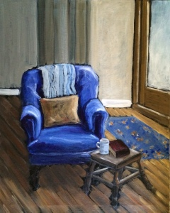 The Blue Chair - SOLD