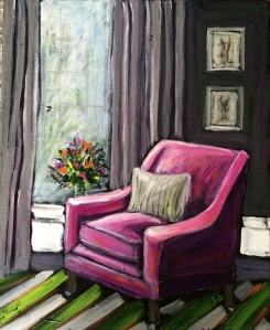 The Pink Chair 16x20