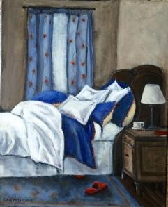 A Comfy Bed 16x20