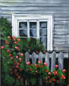 Window in Patagonia 11x14