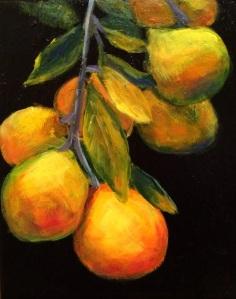 Orange Tree 8 x 10