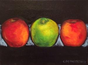 Apples 9 x 12