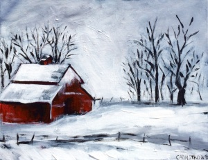 Minnesota Winter 11 x 14