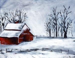 Minnesota Winter 11 x 14