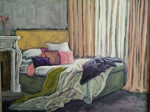 Unmade Bed 16 x 20 $700