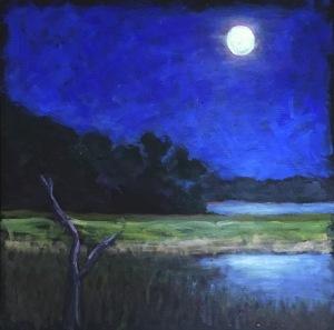 Moon Glow 12 x 12 $225