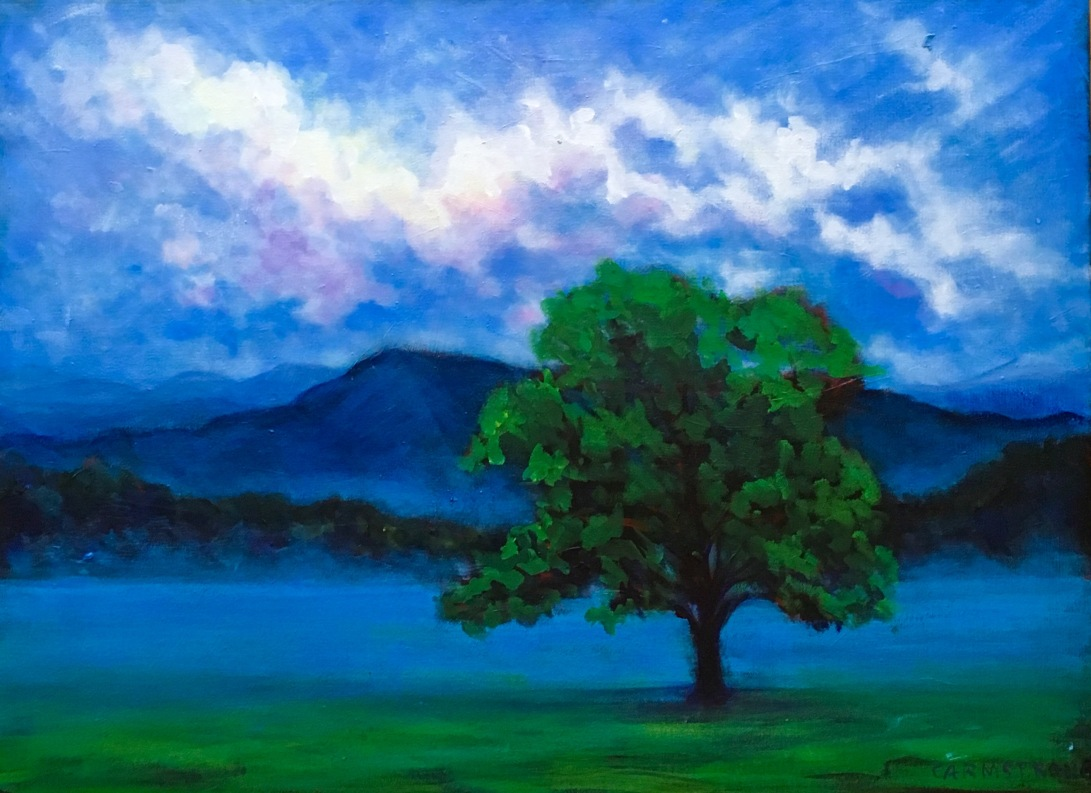 Twilight in the Blue Ridge