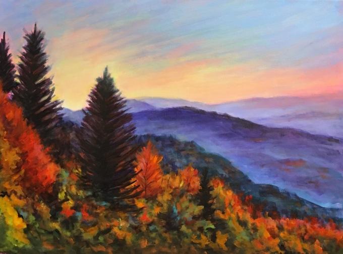 Fall Colors 18 x 24 $750